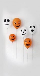 ハロウィン かぼちゃとおばけのバルーン